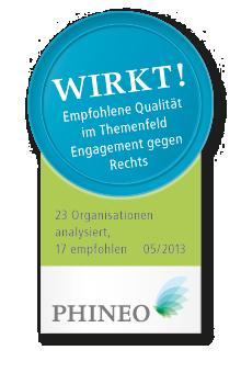 PHINEO-Wirkt-Siegel_Engagement-gegen-Rechts_05-2013_Web_Farbe_hoch Kopie